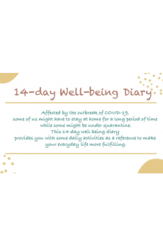 14 day Well-being diary (English)