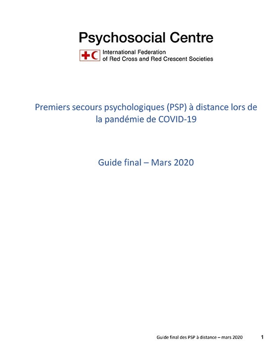 PSP à distance durant COVID-19